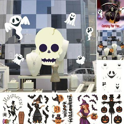 Halloween Festival Party DIY Wall StickersBedroom Home Window Funny Decal Decor - Diy Halloween Wall Decorations