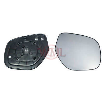 Right Driver side Flat Wing mirror glass for Mitsubishi ASX 2010-2014 Heated