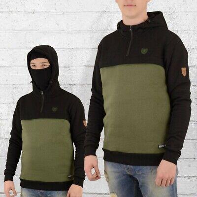 PG Wear Kapuzen-Pullover Full Face Frontliner Sturmhaube Maske schwarz oliv (Kapuzen Maske)