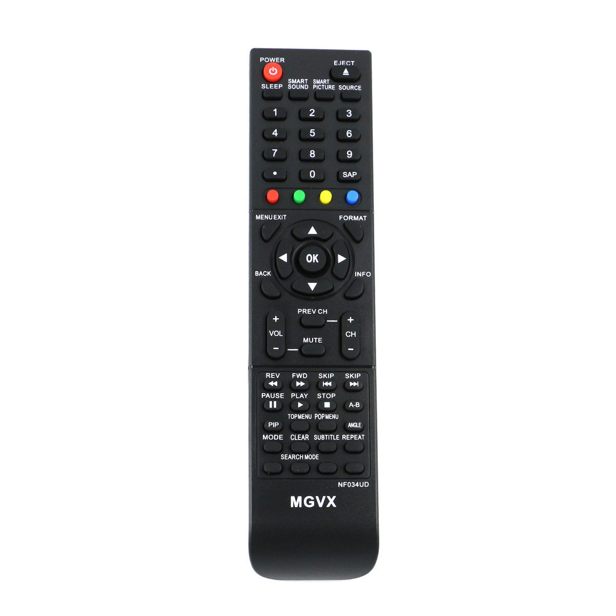 New NF034UD Remote Control for MAGNAVOX PHILIPS LCD TV DVD 4
