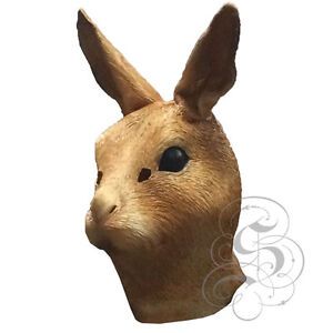 Latex Full Head Overhead Animal Cospaly Masquerade Fancy Dress Up Carnival Mask