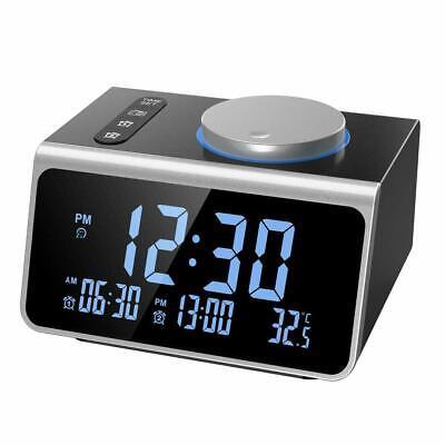 FM Radio Alarm Clock, Digital Alarm Clock Radio, Dual Alarm with USB..- B1