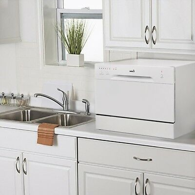 Countertop Dishwasher immaculate Portable Compact Energy Star Apartment Dish Washer