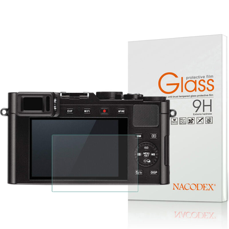 Nacodex For Leica D-Lux Tempered Glass Screen Protector