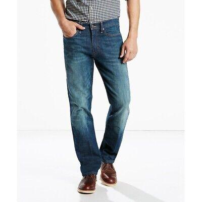 Levis 514 Slim Straight Leg Fit Jeans Mens 34x30 00514-0403 Midnight Blue Denim