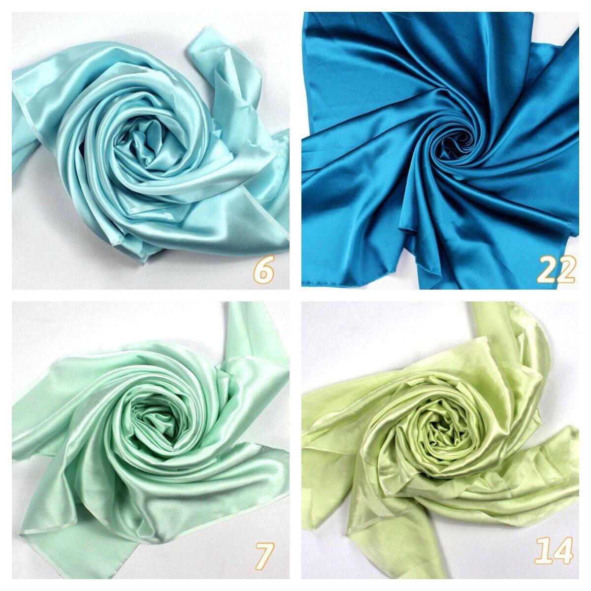b1f574873ae098 Acqua Blue Petrol Blue Mint Green Lime Green Pure Silk Satin Charmeus Fabric   m