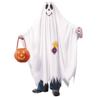 Kids Friendly Ghost Costume (Kids Friendly Ghost Child Halloween Costume Size Medium)