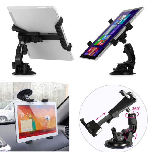 360° Universal Car Windshield Holder Desktop Mount for Tablet iPad Cellphone GPS