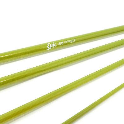 EPIC 686 Fly Fishing Rod Blank (Olive) - Brand New - LELAND Fly Fishing Steel Rod