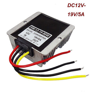 Dc-dc 12v Step Up To 19v Voltage 5a 95w Power Supply Converter Regulator Great