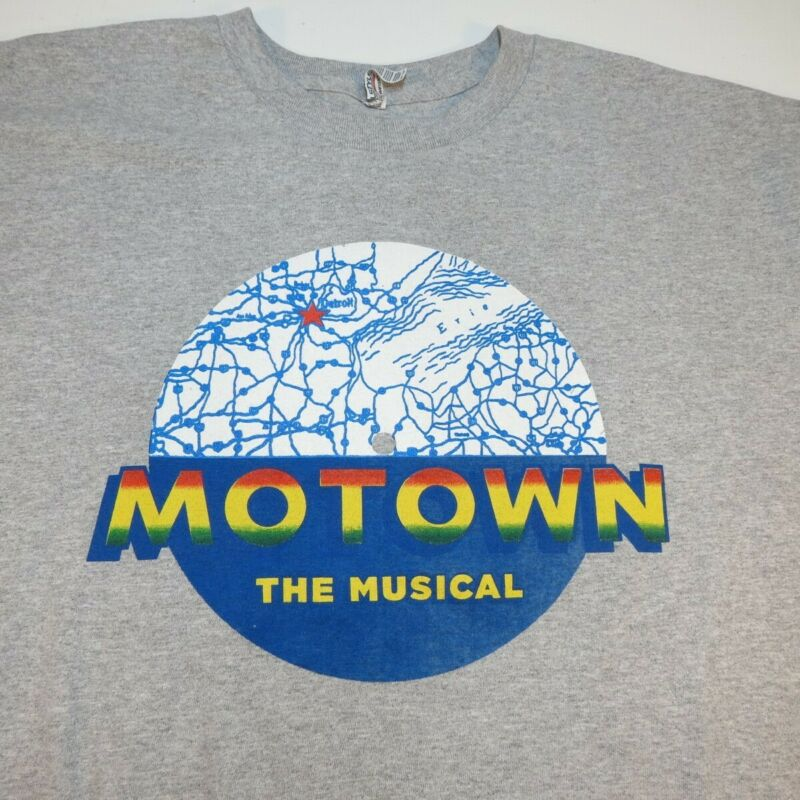 MOTOWN THE MUSICAL Live at the Pantages TEE T SHIRT Sz Mens XXL