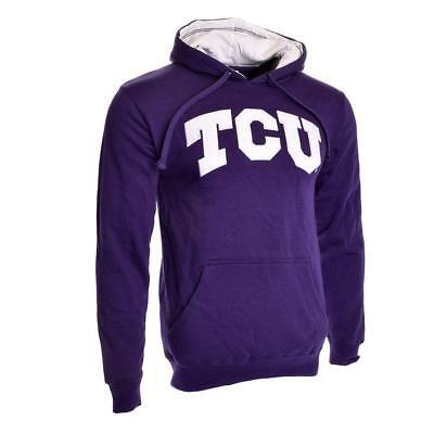 Knights Apparel TCU Horned Frogs Huddle Up Hoodie (Purple) Small S Hooded - Tcu Apparel