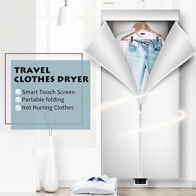 Portable Electric Clothes Dryer Foldable Heater Rack Wardrobe Air Drying Machine for sale  Shipping to Nigeria