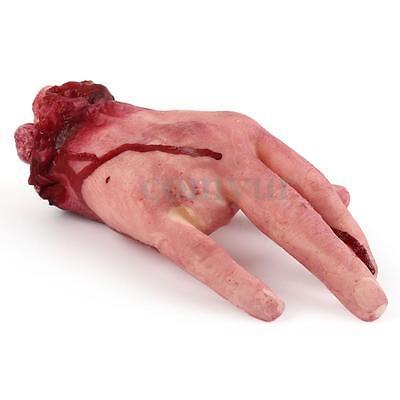 Blutige abgetrennte Körperteile Gliedmaßen Halloween Dekoration Grusel Horror