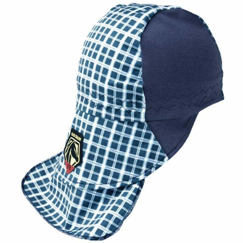 Revco BlackStallion AH1730-BL FR Cotton Welding Cap with Hidden Bill Extension,