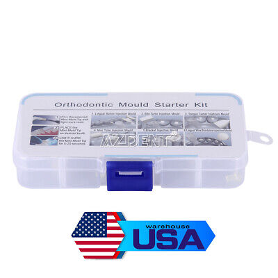 1box Dental Quickbuiltaestheticsorthodonticaccessoriesinjectionmould