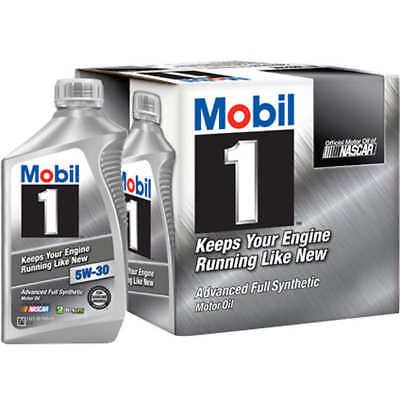 Mobil 1 Advanced Full Synthetic 6pk Motor Oil 5W-30 New!!