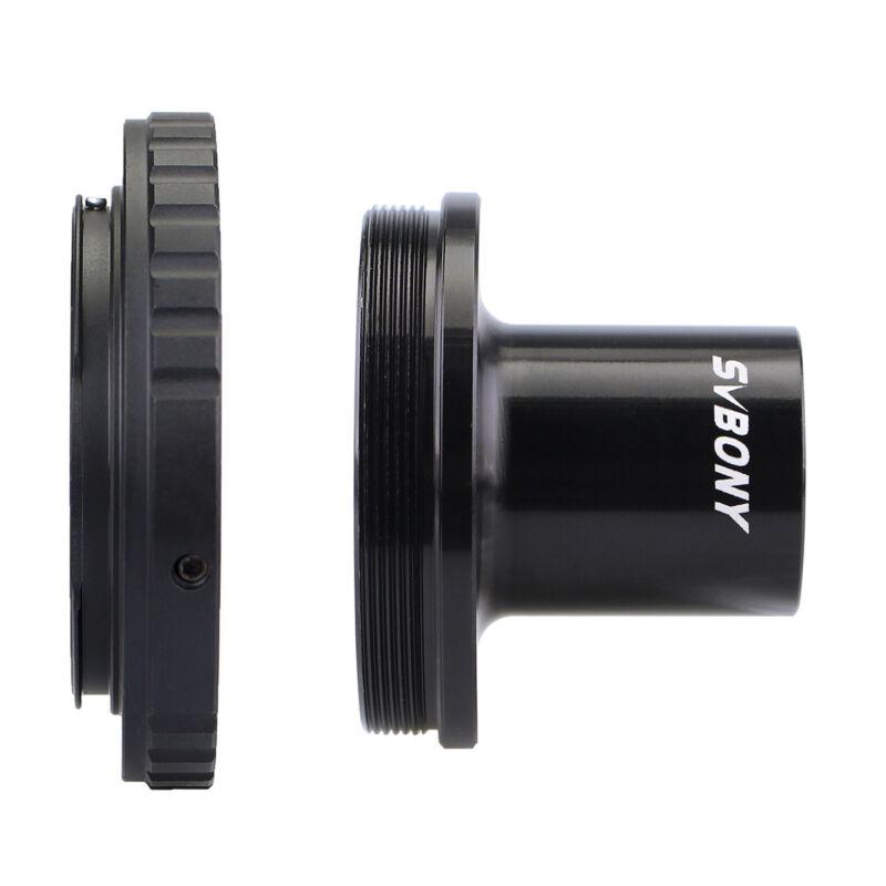 Microscope T Adapter Camera Adapter+T2 Ring for Nikon/canon DSLR/SLR LensAdapter