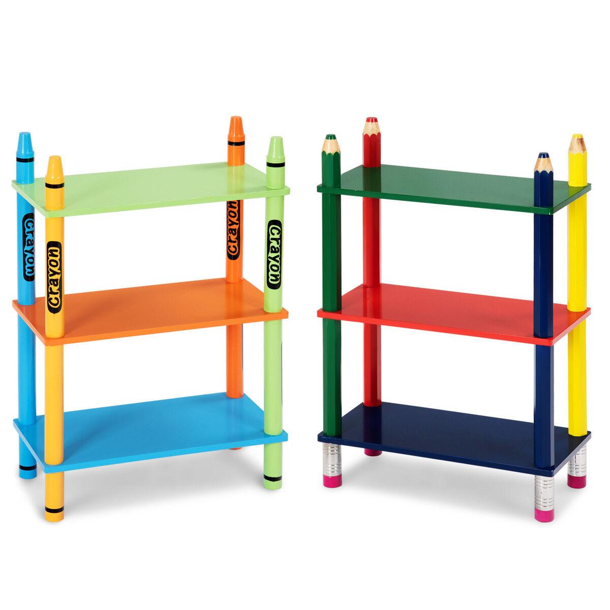 Kinder Regal Kinder Bücherregal Aufbewahrungsregal Spielzeugregal Kindermöbel
