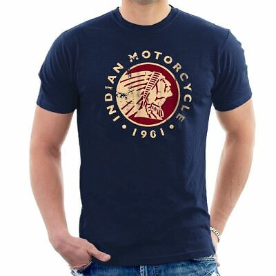 INDIAN MOTORCYCLE 1901 T-SHIRT Distressed Tee Biker Classic, Size S-5XL, Cotton