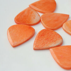 Timber-Tones-Jazzy-Bone-Guitar-Pick-Plectrum-Orange-Blue-Green-Pink