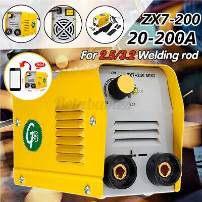 Us 110v 200a Mini Electric Welding Machine Igbt Dc Inverter Arc Mma Stick Welder