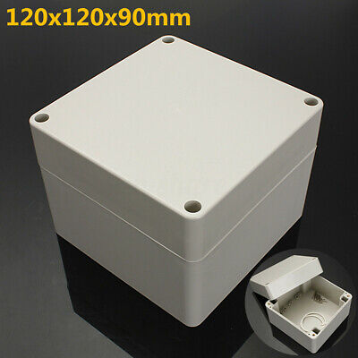 4.7x4.7x3.5inch Abs Electronics Enclosure Project Box Hobby Case Waterproof Us
