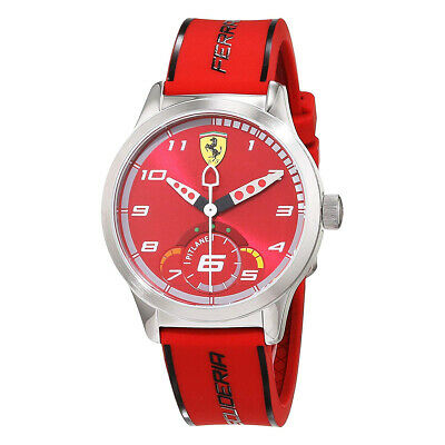 Ferrari Analog Casual Pitlane Red Mens 0860004
