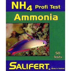 how to reduce ammonia in marine fish tank