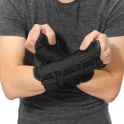 (Wrist Splint Support Brace Fractures Carpal Tunnel Arthritis Sprain Band)