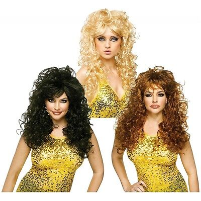 80s Wig Adult for Womens Pop Star or 70s Disco Diva - Disco Accessories