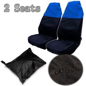Useful 2Pcs Waterproof Anti-Dust Nylon Car Aut Van Front Seats Cover Protector