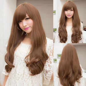 New-Fashion-Womens-Girls-Long-Curly-Wavy-Full-Wigs-Hair-Cosplay-Costume-Party