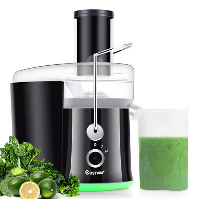 Moving Juicer Wide Mouth Fruit & Vegetable Centrifugal Juice Extractor 2 Speed