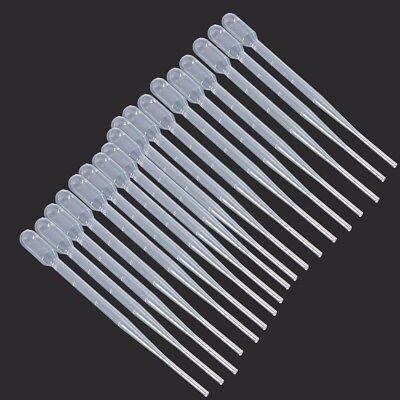 102050100200pcs 2ml Plastic Lab Liquid Transfer Pipettes Pasteur Droppers