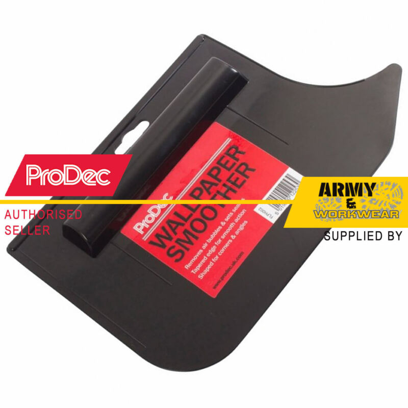 Prodec Wallpaper Smoother Tool Smooth Application All Wallcoverings Removal Air