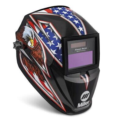 Miller Liberty Classic Auto Darkening Welding Helmet Wclearlight Lens 287820