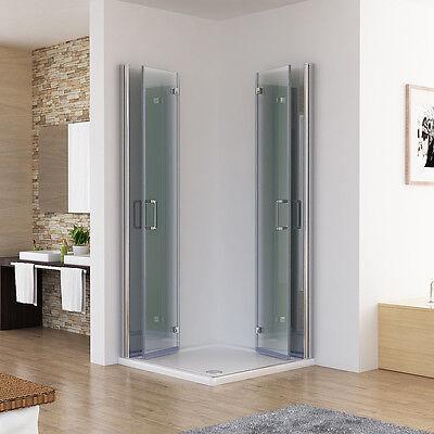 Duschkabine Eckeinstieg Dusche 180° Falttür Duschwand Duschabtrennung NANO