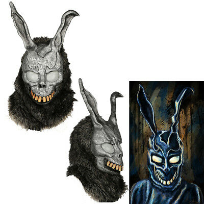 Donnie Darko Bunny Mask Rabbit Yarn Helmet Cosplay Costume Props Halloween Party - Donnie Darko Halloween Party