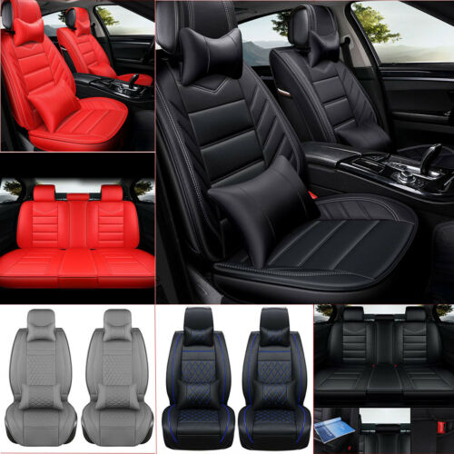Luxury GREY and BLACK Car Seat Covers Toyota Yaris 2014- 2 x Fronts