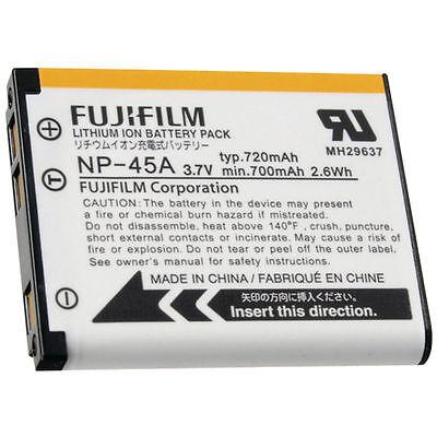 batteria originale FUJI Medion NP-45A AKKU ACCUMULATORE Life P42002