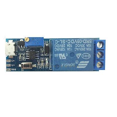 5v-30v Delay Relay Timer Module Trigger Delay Switch Diy Micro Usb Module