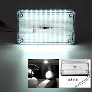 12V 36 LED White Car Truck Van Roof Dome Ceiling Interior Light Cabin Lamp Bulb