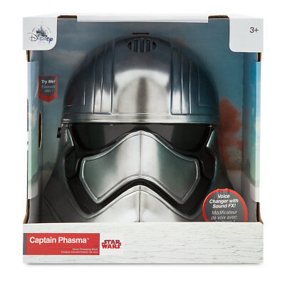 Disney Store CAPTAIN PHASMA Voice Changing Talking Helmet Mask Star Wars 2017 - Voice Changing
