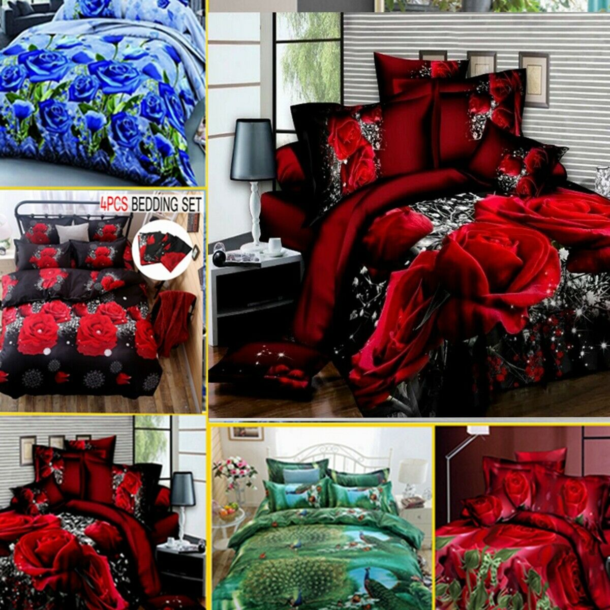 3D Print Duvet Covers Bedding Set Comforters Quilt Bed Sheet