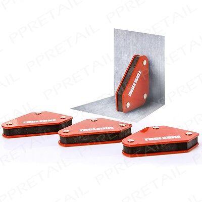 Magnetic Welding Holders -SET OF 4- Arrows DIY Metal Work Clamp Swarf Cleaner