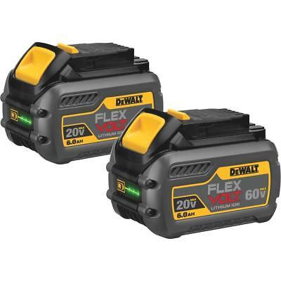(2-Out) DeWalt Flexvolt 20V/60V MAX Li-Ion Tool Battery DCB606