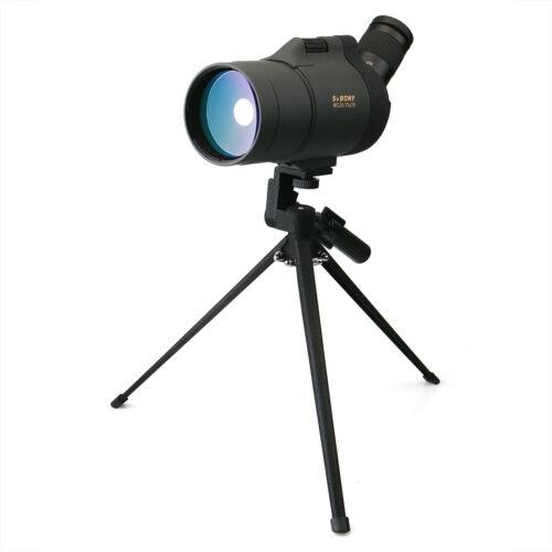 SVBONY SV41 25x-75x70mm MAK Spotting Scope BaK4 Mini Monocul