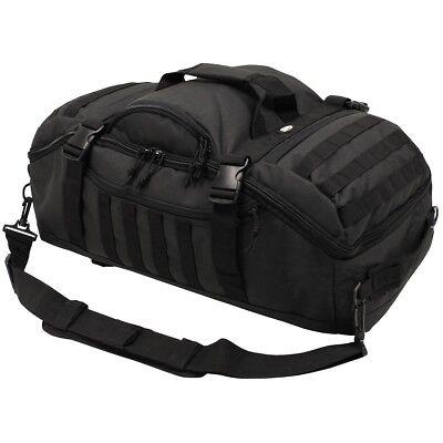 Professional Military Tactical Shooters Range Transport Travel Bag 48L Black New ()