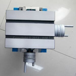 402190 Precision 2 Axis Fixed Cross Slide Base Milling Drilling Table 225*175